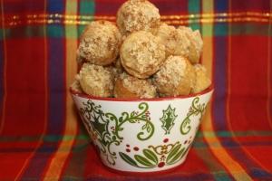 Baked Cinnamon Brown Sugar Donut Bites