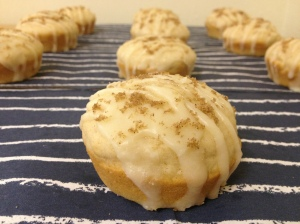 Cream Cheese Cinnamon Roll Muffins
