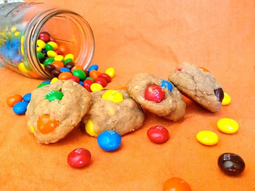 Peanut Butter M&M Cookies