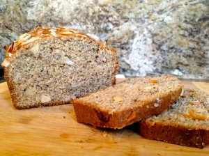 Banana Bread with Coconut and Rum