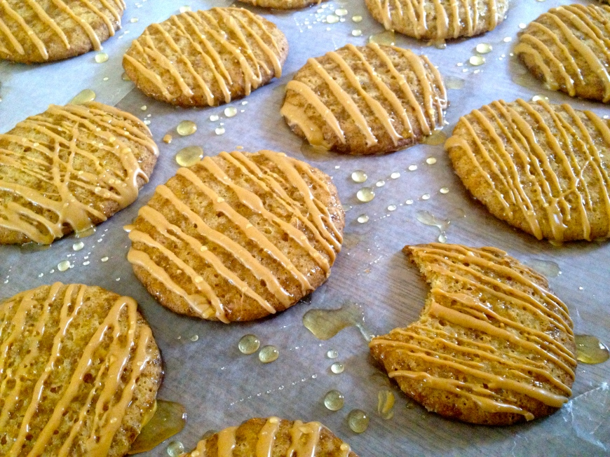 Peanut Butter & Honey Graham Cracker Cookies