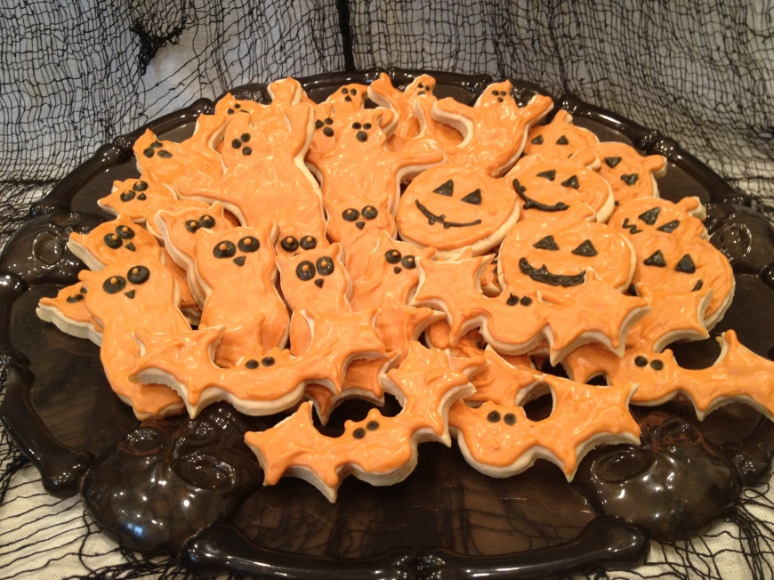 Pumpkin Spice Shortbread Cookies