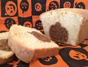 Peekaboo Pumpkin Cream Cheese Pound Cake