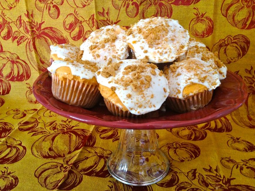 Pumpkin Ice Cream Cupcakes