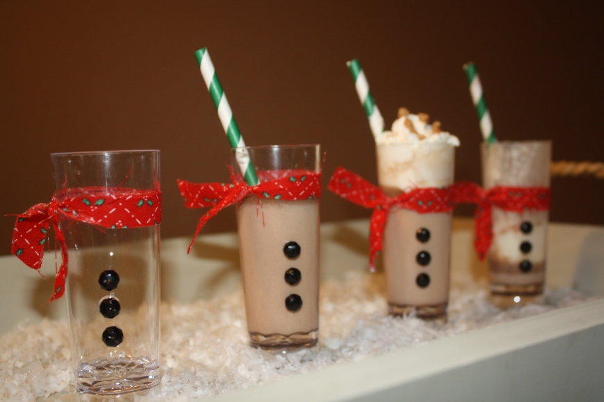 Toffee Hot Chocolate Snowman Shooters