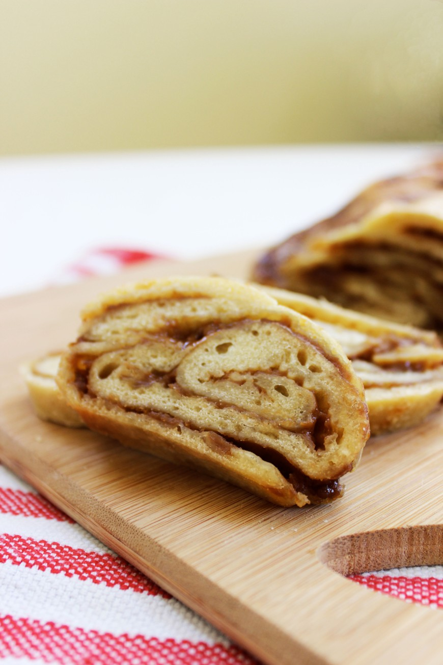 Braided Cookie Butter Bread