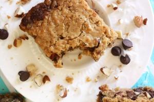 Toasted Coconut Almond Chocolate (aka Almond Joy) Blondies