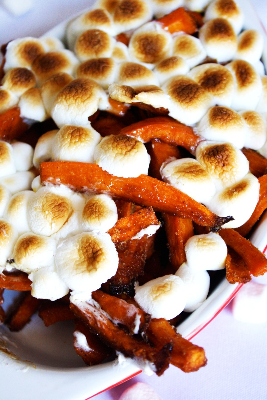 Brown Sugar Sweet Potato Fries